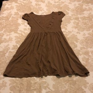 Brown Cotton Dress/Tunic